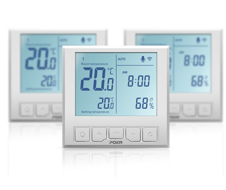 POER PTC26 Electric Heating Wifi Thermostat